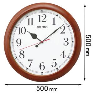 KX-238-B セイコークロック 電波掛け時計 [KX238B]【返品種別A】
