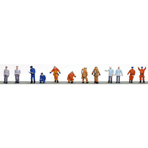 当店一番人気 鉄道模型 トミーテック N 消防署の人々 人間125 予約販売 ザ