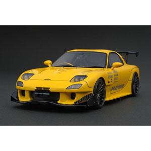 1/18 MAZDA RX-7 (FD3S) RE Amemiya Yellow【IG1042】 ignitionモデル
