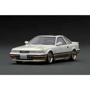 1/43 Toyota Soarer (Z20) 3.0GT-LIMITED White/Silver【IG1317】 ignitionモデル