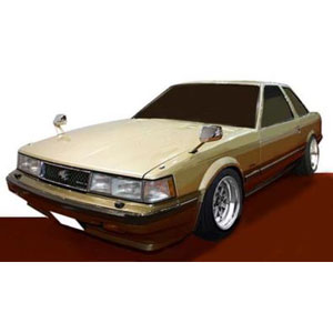 1/43 Toyota Soarer 2800GT Extra(Z10) Gold/Brown【IG1386】 ignitionモデル