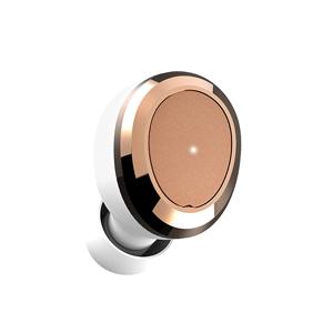 DE-TW02-WHT ディアーイヤー 完全ワイヤレス Bluetoothイヤホン(ホワイト/ゴールド) Dearear OVAL White