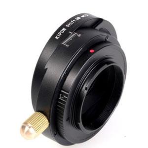 SHIFT OM-M4/3 KIPON KIPON マウントアダプター SHIFT OM-M4/3 (ボディ側:マイクロフォーサーズ/レンズ側:オリンパスOM)