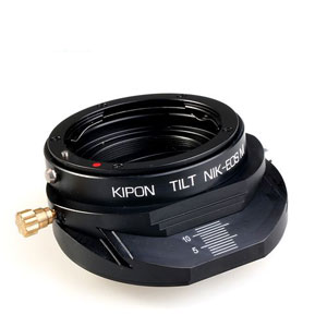 TILT NIK-EOSMN KIPON KIPON マウントアダプター TILT NIK-EOS M N (ボディ側:キヤノンEF-M/レンズ側:ニコンF)