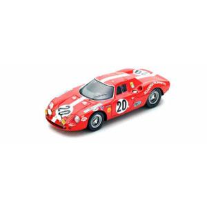 1/43 Ferrari 250 LM No.20 Le Mans 1968【LSLM043】 LOOKSMART