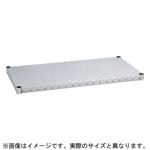 H2460PS1 ホームエレクター パンチングシェルフ 棚板 間口1500×奥行600mm(シルバー)