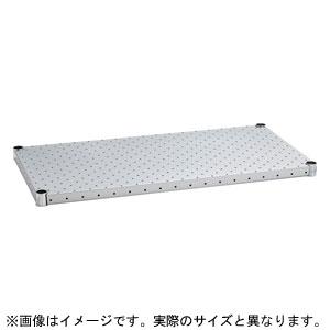 H1848PS1 ホームエレクター パンチングシェルフ 棚板 間口1200×奥行450mm(シルバー)