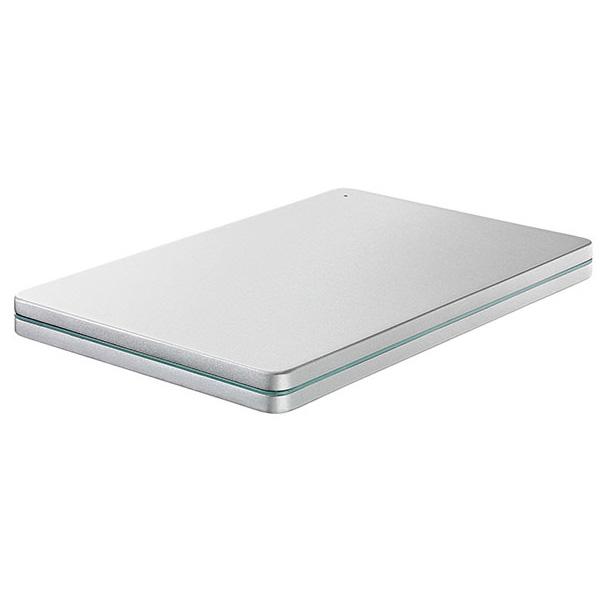 HDPX-UTS1S I/Oデータ USB 3.0/2.0対応ポータブルハードディスク 1TB(Silver×Green) 「カクうす」HDPX-UTSシリーズ [HDPXUTS1S]【返品種別A】