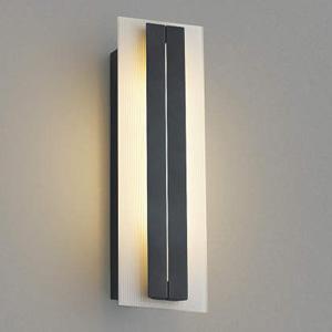 AU42333L コイズミ LEDポーチ灯(ダークグレーメタリック)【要電気工事】 KOIZUMI