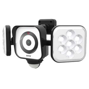 C-AC8160 ムサシ LEDセンサーライト(8W×2灯) RITEX