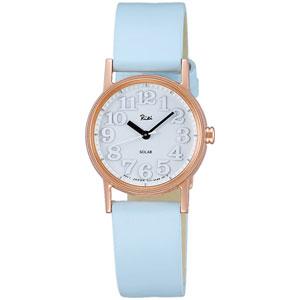AKQD033 アルバ リキワタナベ 小さなメタルのソーラー腕時計 ソーラー レディースタイプ [AKQD033]【返品種別A】
