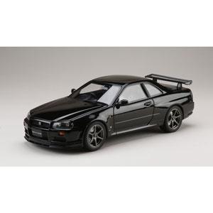 1/18 ニッサン スカイライン GT-R V・スペック 1999 (BNR34) ブラックパール【HJ1809BK】 ホビージャパン