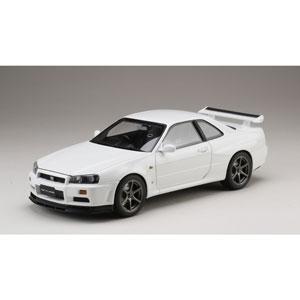 1/18 ニッサン スカイライン GT-R V・スペック 1999 (BNR34) ホワイト【HJ1809W】 ホビージャパン