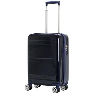 GRE2042-48ネイビ- シフレ スーツケース ハードフレーム (ネイビー) 34L GREEN WORKS