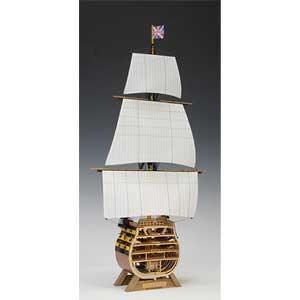 1/160 ビクトリー カットモデル(帆付き) ウッディジョー