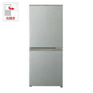 (標準設置料込)AQR-13G-S アクア 126L 2ドア冷蔵庫(ブラッシュシルバー)【右開き】 AQUA