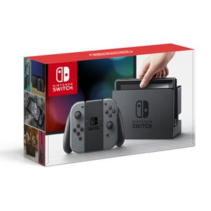 Nintendo Switch 本体【Joy-Con(L)/(R) グレー】 任天堂 [HAC-S-KAAAA NSWホンタイグレー]
