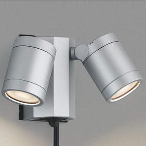 AU43206L コイズミ LEDスポットライト(シルバーメタリック) KOIZUMI