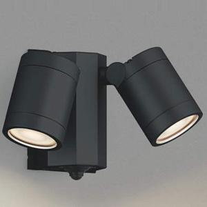 AU43321L コイズミ LEDスポットライト(黒色)【要電気工事】 KOIZUMI