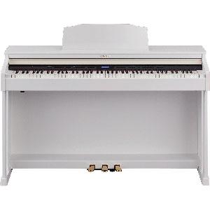 HP601-WHS ローランド 電子ピアノ(ホワイト)【高低自在椅子&ヘッドホン&楽譜集付き】 Roland Digital Piano