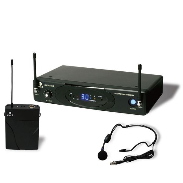 KWS-899P/HM-38 K.W.S ワイヤレスシステム ヘッドセットシングルタイプ