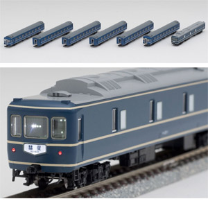 [鉄道模型]トミックス (Nゲージ) 98638 国鉄 24系25形0番代 特急寝台客車(カニ25) セット(7両)