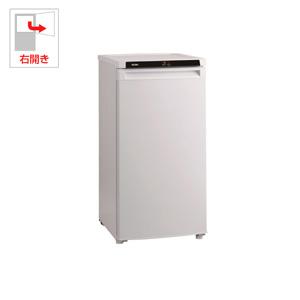 (標準設置料込)JF-NU102A-W ハイアール 102L 冷凍庫(フリーザー)直冷式 ホワイト 【フリーザー】Haier