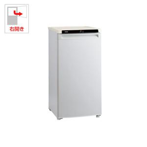 (標準設置料込)JF-NU102A-S ハイアール 102L 冷凍庫(フリーザー)直冷式 シルバー 【フリーザー】Haier