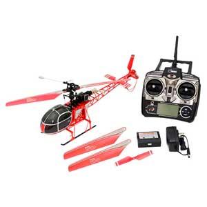 【再生産】2.4GHz 4ch ヘリコプター V915 RTF(レッド)【WLV915】 ハイテックマルチプレックスジャパン