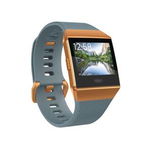 FB503CPBU-CJK フィットビット スマートウォッチ(スレートブルー/バーントオレンジ) Fitbit iONIC [FB503CPBUCJK]【返品種別A】