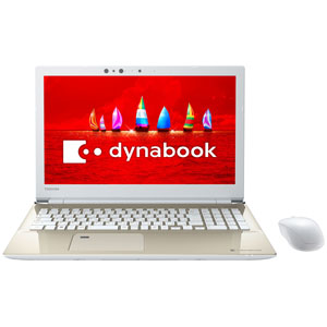 PT95FGP-BEA2 東芝 15.6型ノートパソコン dynabook T95 サテンゴールド dynabook 2018年 春モデル(Core i7/メモリ16GB/SSD512GB/Office H&B)