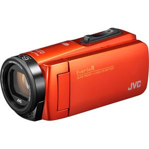 GZ-RX680-D JVC ハイビジョンメモリームービー「GZ-RX680」(ブラッドオレンジ)