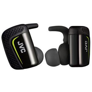 HA-ET900BT-B JVC 完全ワイヤレス Bluetoothイヤホン(ブラック) AE WIRELESS