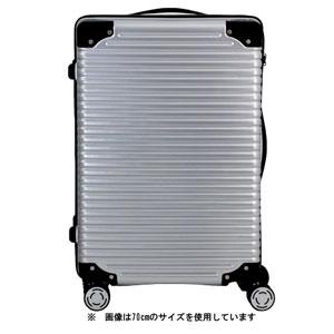 TRI2064-61マツトシルバ- シフレ スーツケース ハードフレーム (マットシルバー) 68L