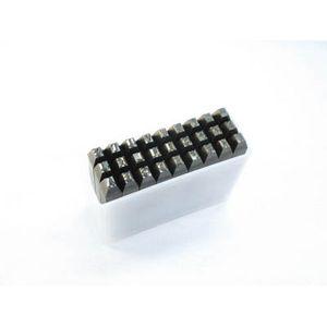 SKA-60 トラスコ中山 英字刻印セット 6mm