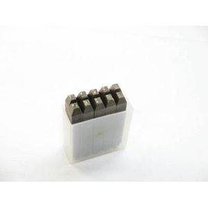 SKB-80 トラスコ中山 逆数字刻印セット 8mm
