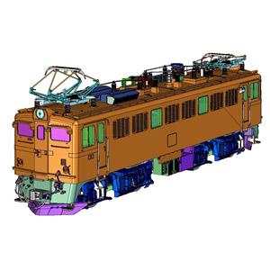 [鉄道模型]トラムウェイ (HO) TW-ED71-2W ED71-第2次量産形(二両セット)