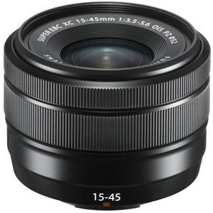 XC1545MMF3556OISPZB 富士フイルム フジノンレンズ XC15-45mmF3.5-5.6 OIS PZNew(ブラック) ※富士フイルムXマウント用レンズ