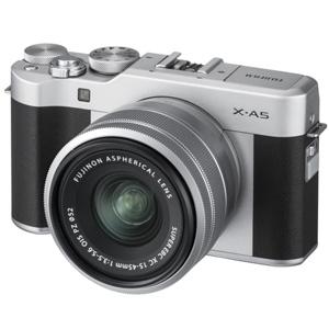 FX-A5LKS 富士フイルム ミラーレス一眼カメラ「FUJIFILM X-A5」レンズキット(シルバー)