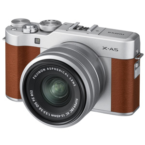 FX-A5LKBW 富士フイルム デジタル一眼カメラ「X-A5」レンズキット(ブラウン)