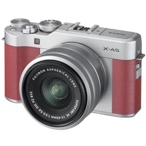 FX-A5LKP 富士フイルム ミラーレス一眼カメラ「FUJIFILM X-A5」レンズキット(ピンク)