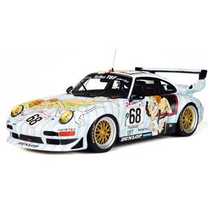 1/18 ポルシェ 911 GT2 ル・マン24h アートカー 1998 #68【GTS729】 GTスピリット