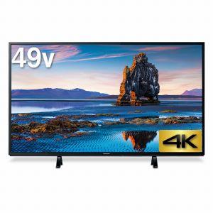 (標準設置料込_Aエリアのみ)TH-49FX600 パナソニック 49V型地上・BS・110度CSデジタル4K対応LED液晶テレビ (別売USB HDD録画対応)VIERA