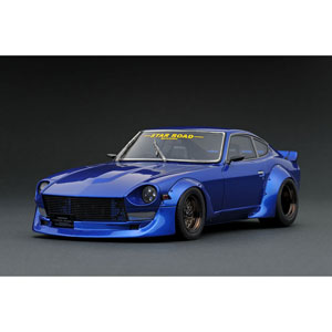 1/18 Nissan Fairlady Z (S30) STAR ROAD Blue【IG1359】 ignitionモデル