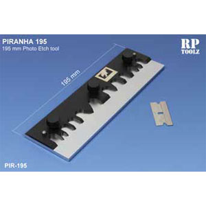 【再生産】「ピラニア」エッチングベンダー 19.5cm【PIR-195】 RPTOOLZ