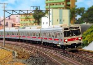 [鉄道模型]グリーンマックス (Nゲージ) 30738 東急2000系 (田園都市線・2003編成・白ライト) 基本6両編成セット (動力付き)