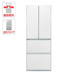 (標準設置料込)NR-JD5103V-W パナソニック 505L 4ドア冷蔵庫(マチュアホワイト) Panasonic