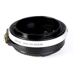 SHIFT FD-EOSM KIPON KIPON マウントアダプター SHIFT FD-EOS M (ボディ側:キヤノンEF-M/レンズ側:キヤノンFD)
