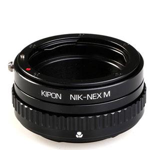 NIK-S/E M KIPON KIPON マウントアダプター NIK-S/E M (ボディ側:ソニーE/レンズ側:ニコンF)