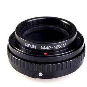 M42-S/E M KIPON KIPON マウントアダプター M42-S/E M (ボディ側:ソニーE/レンズ側:M42)